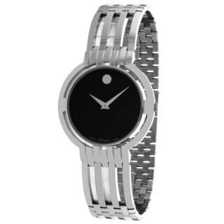 Movado Men's 0605096 Esperanza Round Silvertone Bracelet Watch