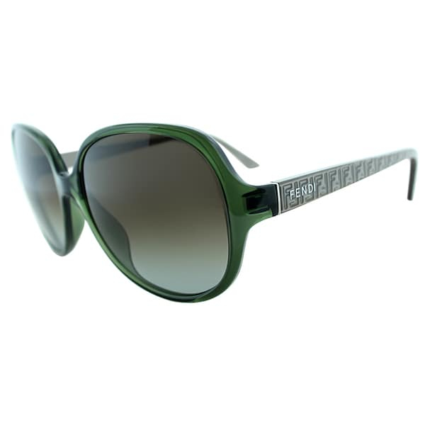 Fendi Womens FS 5274 315 Green Round Sunglasses