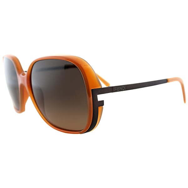 Fendi Womens FS 5208 290 Honey Sunglasses