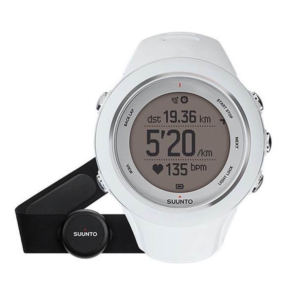 Suunto Ambit3 Sport GPS Heart Rate Monitor, One Size - White