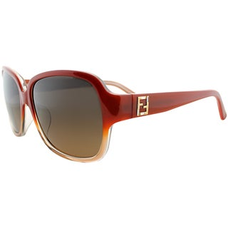 Fendi Womens FS 5232R 611 Gradient Brick Sunglasses
