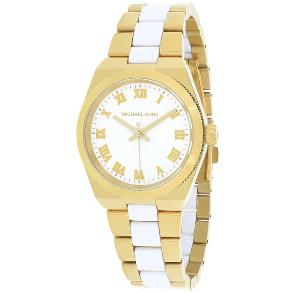 Michael Kors Women's MK6122 'Channing' Two Tone Stainless Steel Watch