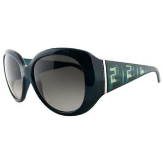 Fendi Women's FS 5357 445 Navy Sunglasses