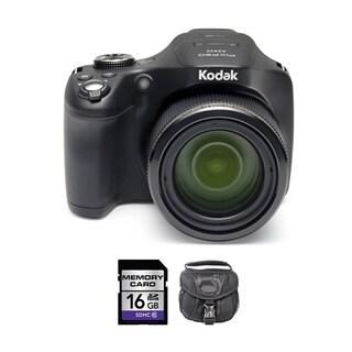 Kodak Pixpro AZ522 Black Digital Camera 16GB Bundle