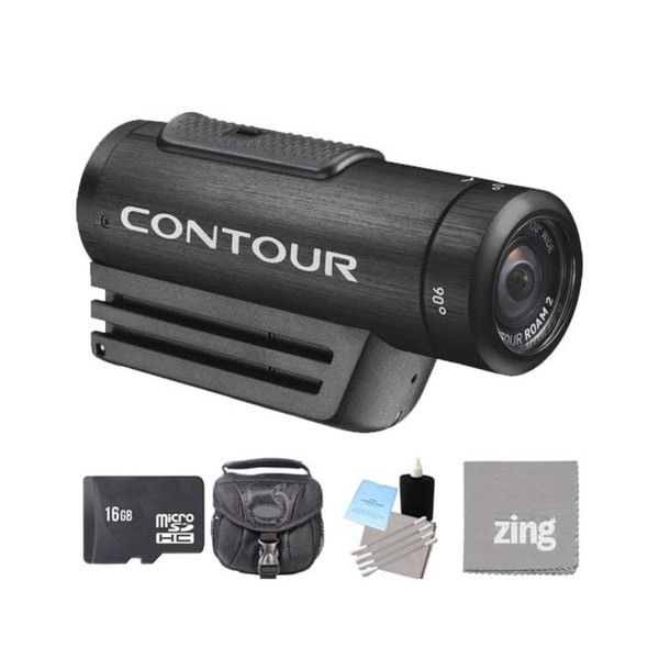ContourROAM2 Action Camera Black 16GB Bundle