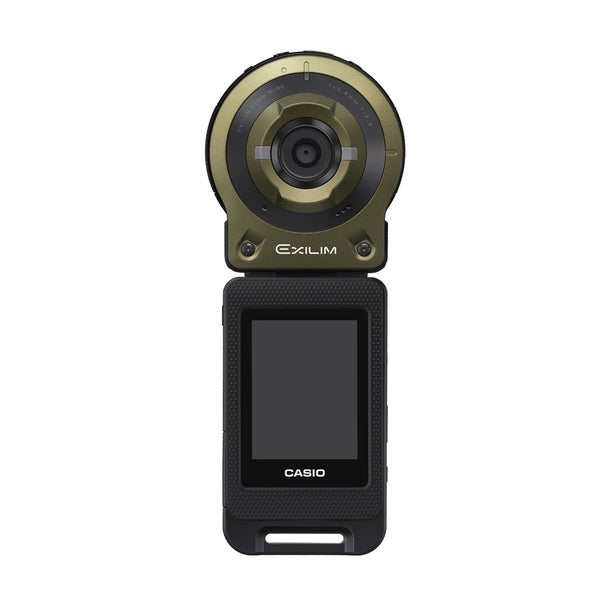 Casio Freestyle 14MP Green Digital Camera