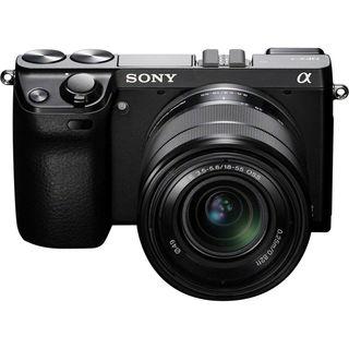Sony NEX7 Black Digital Camera with 18-55mm Lens Manufacturer Refurbished