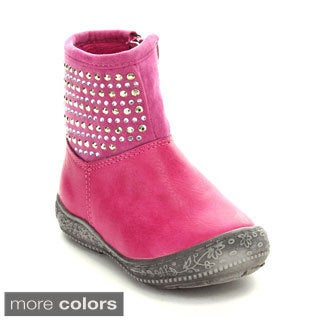 Jelly Beans Toddler Girls' 'SPARKLING' Rhinestone Mid-calf Boots