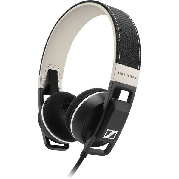 Sennheiser Urbanite On-Ear Black Earphones (Apple iOS)