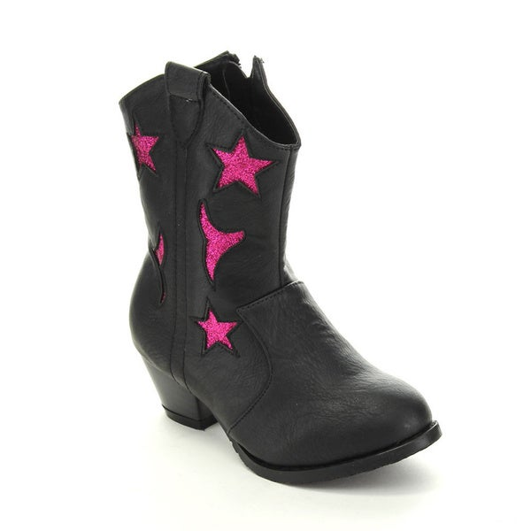 Jelly Beans Girls' GEGA Western Cow Girl Boots