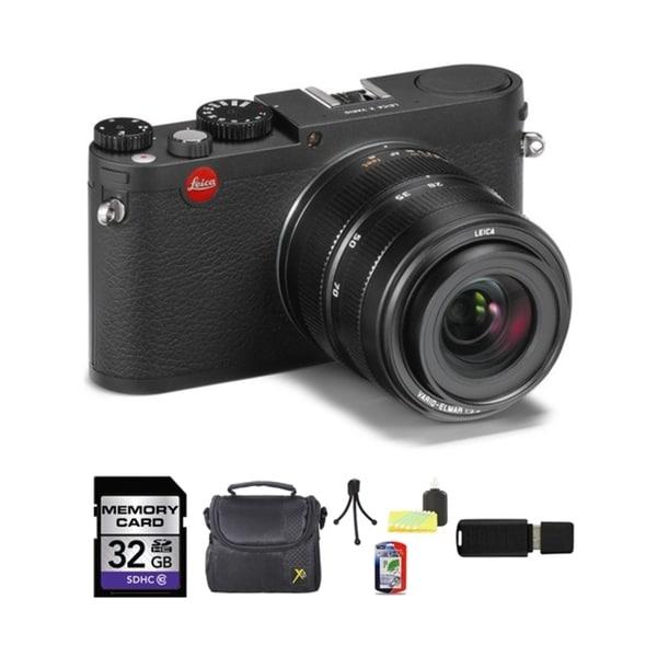 Leica X Vario 32GB Digital Camera Bundle