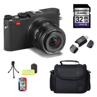 Leica X Vario 32GB Digital Camera Bundle