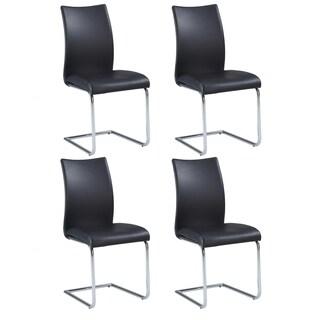 Somette Jayne Contour Back Cantilever Side Chair (Set of 4)