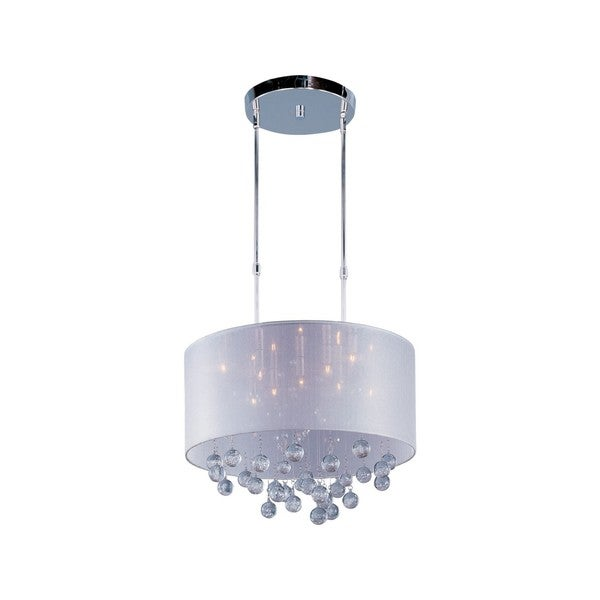 Veil Chrome 9-light Single Pendant