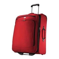 American Tourister by Samsonite Splash 2 Tango Red Rolling Upright Suitcase