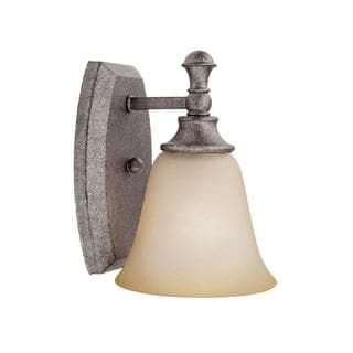 Capital Lighting Belmont Collection 1-light Creek Stone Wall Sconce Light