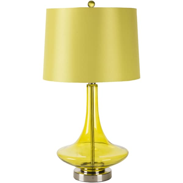Modern Solid Green Bray Table Lamp 14669662