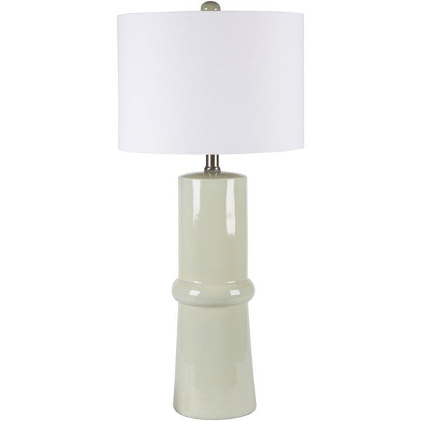 Elegant Solid Spa Blue Eve Table Lamp