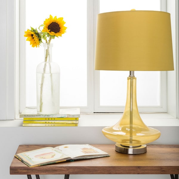 Modern Solid Yellow Bray Table Lamp 14669689