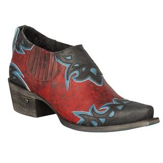 Lane Boots Women's 'Scrollie' Cowboy Boot