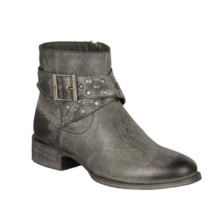 Lane Boots Women's Short Black Western Leather Boot