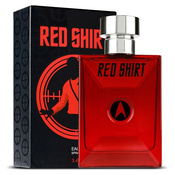 Star Trek Men's Red Shirt 3.4-ounce Eau de Toilette Spray