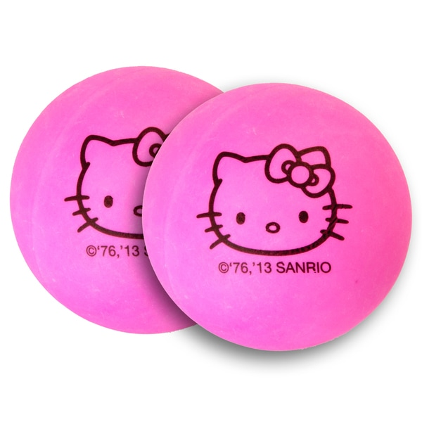 Hello Kitty Ping Pong Balls (Pack of 6)