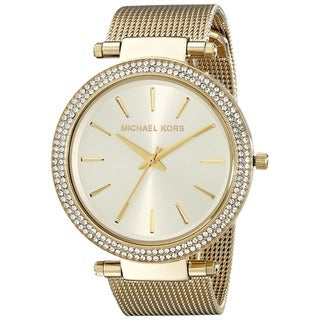 Michael Kors Women's MK3368 'Darci' Goldtone Stainless Steel Watch
