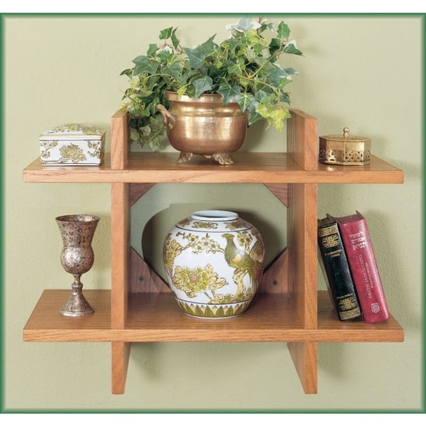 Light Oak Modular Shelf
