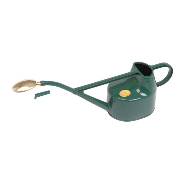 English Garden Haws Deluxe 1.3 Gallon Outdoor Plastic Watering Can