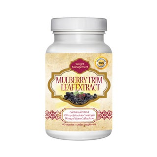 Totally Products White Mulberry Leaf Extract Weight Loss Support Supplement 60 Capsules