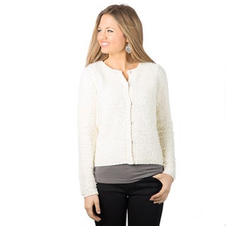DownEast Basics Women's Boucle Sweater Jacket