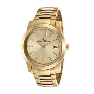 Lucien Piccard Women's LP-10026-YG-10 Bordeaux Gold-Tone Watch