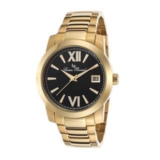 Lucien Piccard Women's LP-10026-YG-11 Bordeaux Black Watch