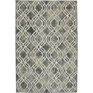 Karastan Euphoria Potterton Ash Grey Rug (9'6 x 12'11)