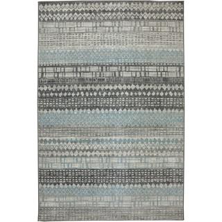 Karastan Euphoria Eddleston Ash Grey Rug (8' x 11')