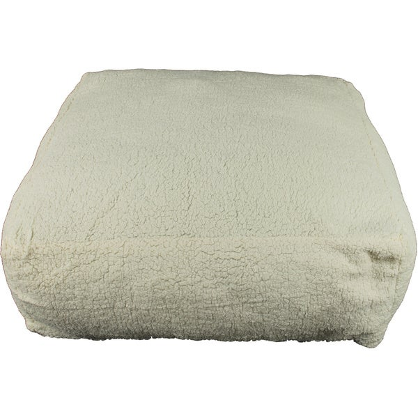 Carolina Pet Cloud Sherpa Pouf Pet Bed
