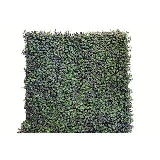 Greensmart Decor Artificial Dollar Leaf Foliage Wall Panels (Set of 4)