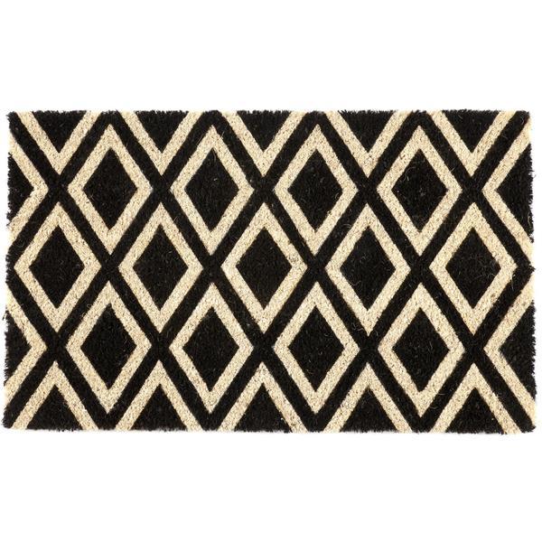 """Rhombi Non-slip Coir Doormat (17"""" x 28"""")"""