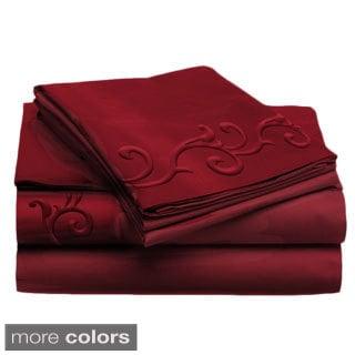 Jill Morgan Luxurious 4-piece Lisa Sheet Set