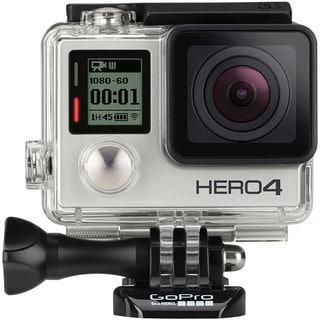 GoPro HERO4 Silver Edition Camera 64GB Bundle