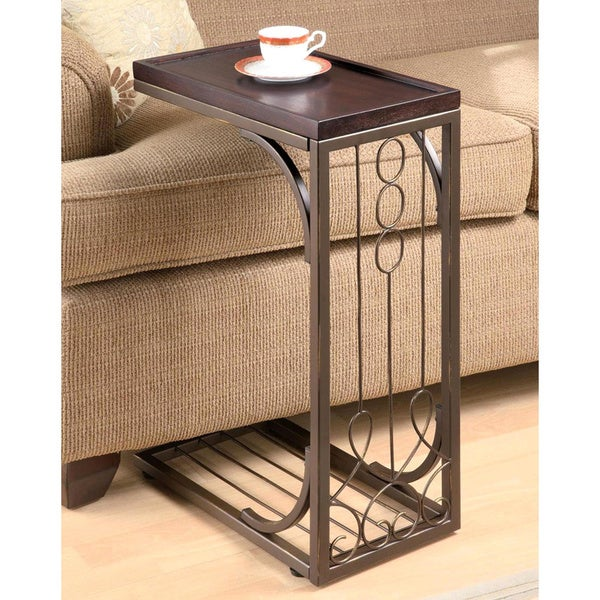 Elegant Scroll Design Snack Table 16930131 Shopping Great Deals On Coffee