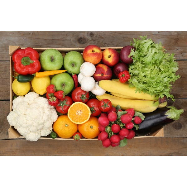 Weekly Subscription: Certified Organic Bountiful Variety Produce Box