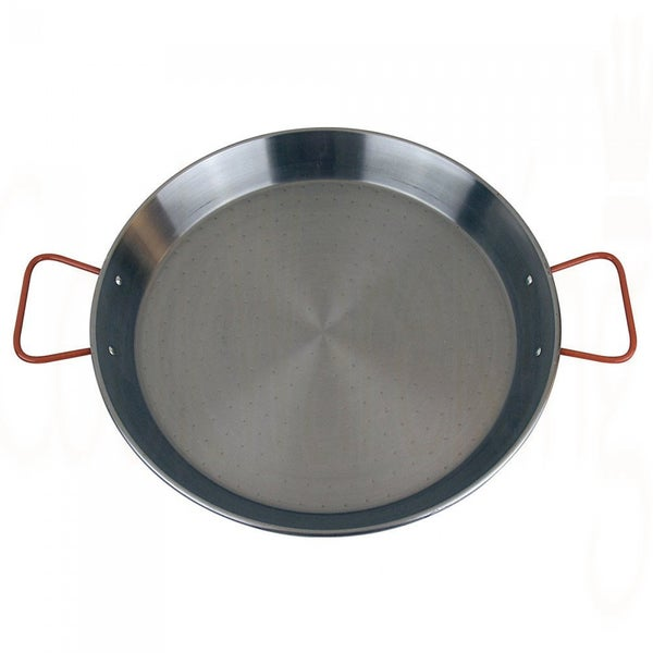 Magefesa Carbon Steel 17-inch PAELLA PAN (Aprox. 10 Servings)
