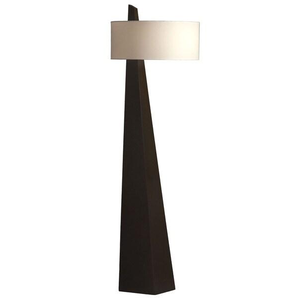 Obelisk Brown Floor Lamp