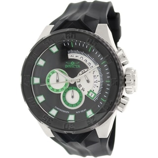 Invicta Men's I-Force 16922 Black Rubber Analog Quartz Watch