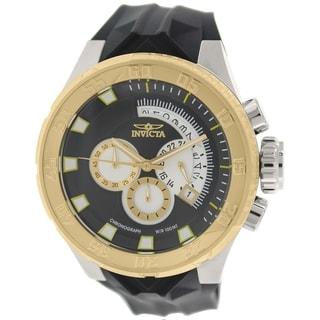 Invicta Men's I-Force 16923 Black Silicone Analog Quartz Watch