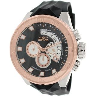 Invicta Men's I-Force 16924 Black Rubber Swiss Chronograph Watch