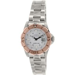 Invicta Women's Pro Diver 17382 Silver Stainless-Steel Analog Quartz Watch