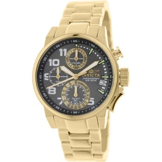 Invicta Women's I-Force 17425 Gold Stainless-Steel Swiss Chronograph Watch
